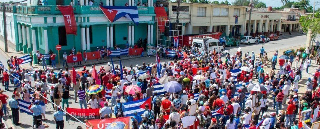 """PPD condena en """"excesivo uso de la fuerza"""" contra manifestantes en Cuba"""