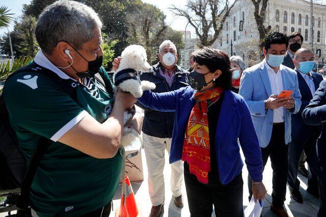 Provoste reiteró crítica de «lobbysta» a Sichel: «No podemos ocultar el pasado»