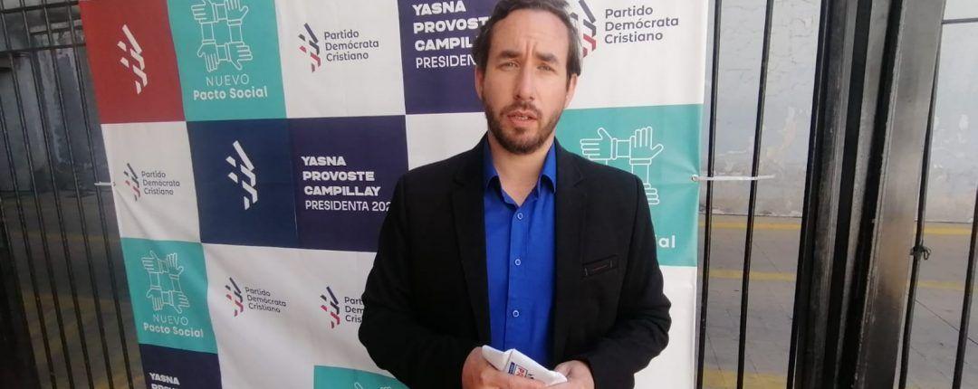 Nicolás Preuss (DC), candidato a diputado por distrito 11 En La Fontana: «Necesitamos grandes transformaciones sociales, pero que se hagan en paz y de forma estructurada»
